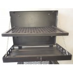 Wall mount braai mild steel